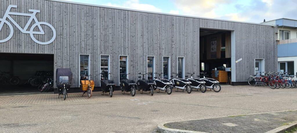 Elektrische bakfietsen huren bij Fietsverhuur Texel